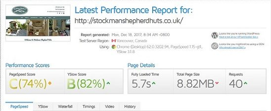 Stockman Performance Test screenshot