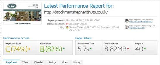 Stockman Performance Test screenshot