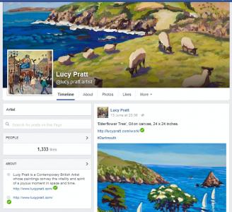 Lucy Pratt facebook page screenshot