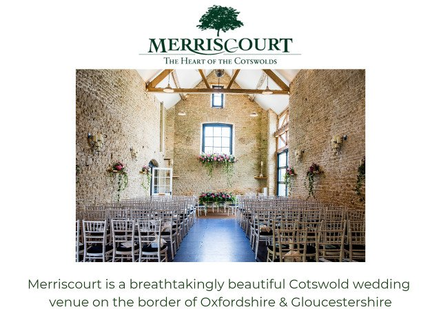 Merriscourt wedding venue photo & logo